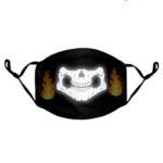 custom reflective adjustable mask