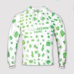 custom all over print zip hoodie
