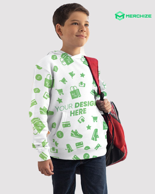 All Over Print Youth Hoodie