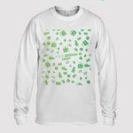 custom Long Sleeve T-Shirt 2D