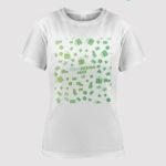 custom women t shirt 2d