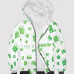 custom all over print hoodie