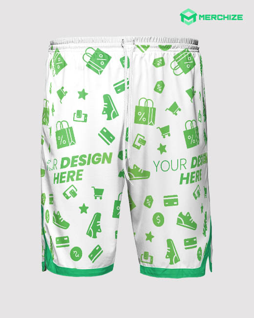 Custom All Over Print Jersey Shorts