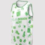 Custom All Over Print Sleeveless Jersey Tank Top