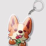 Custom Mini Pet Keychain