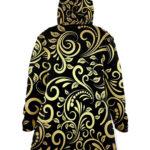custom all over print cloak coat