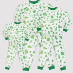 custom pajamas set