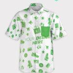 all over print short-sleeve pocker shirt 1