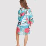 custom all over print beach kimono 2