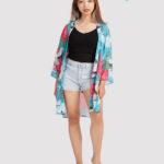 custom all over print beach kimono 1