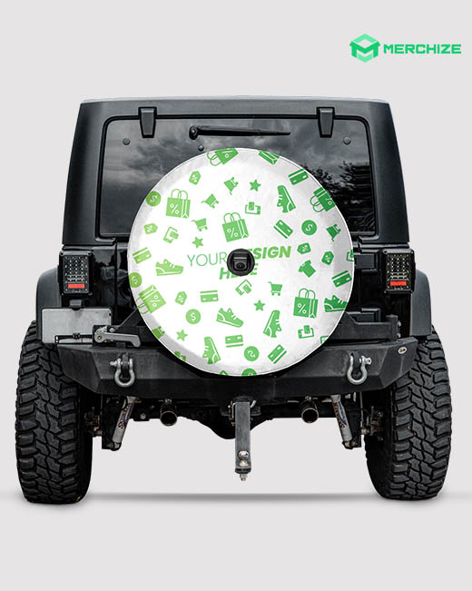Spare Tire Cover With Backup Camera Hole