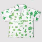 AOP Youth Short-sleeve Hawaiian Shirt