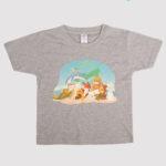 custom Kid T-shirt 2D custom print on demand