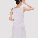 custom design sleeveless dress