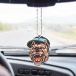 personalize Plastic Car Hanging Ornament