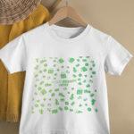 custom print on demand Kid T-shirt 2D