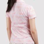 print on demand women polo shirt