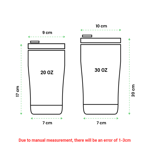tumbler size guide 2