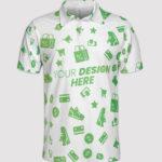 custom-all-over print polo shirt