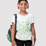 custom t-shirt 2d for kid